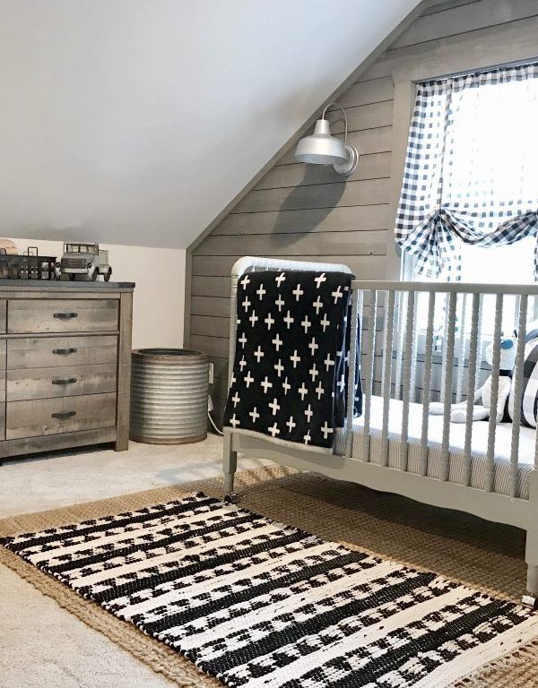 Our Attic Room Makeover- Nursery Reveal