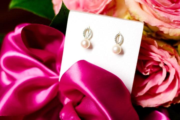 Perlen Ohrringe   Shopping