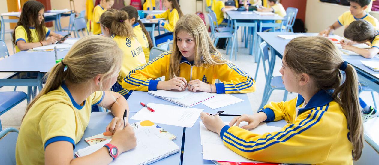 colegio secundaria Coruña Obradoiro