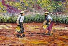 Les semeurs ( Birmanie )