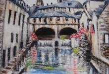 Bayeux : les bords de l'Aure