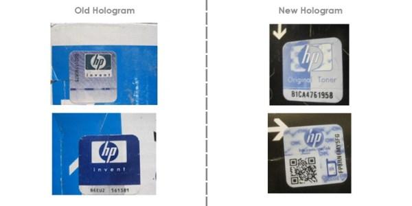 Как отличить поддельный картридж HP