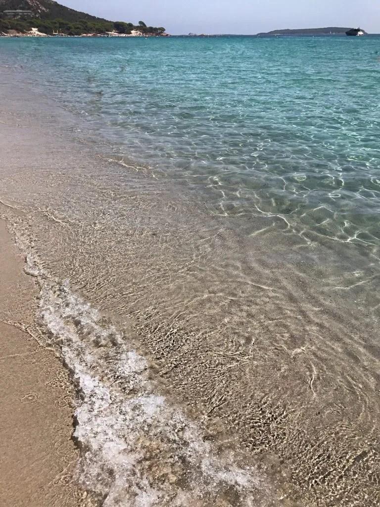 Spiaggia di Palombaggia in Corsica