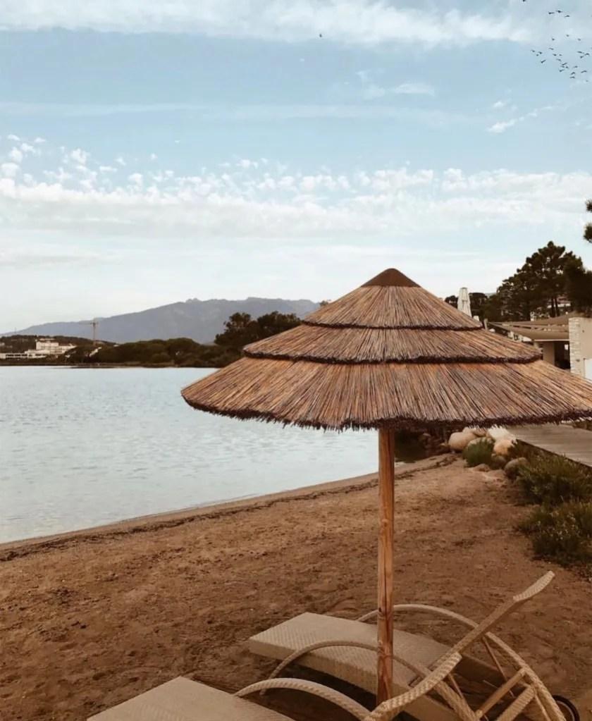 Spiaggia privata dell'Hotel Don Cesar