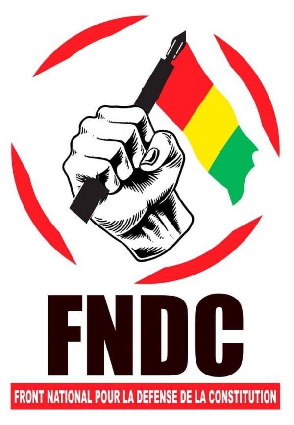Lutte contre le troisième mandat : Le FNDC appelle à de nouvelles manifestations (communiqué)