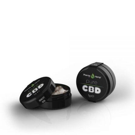 Cristalli CBD di Pharmahemp - 99,9%