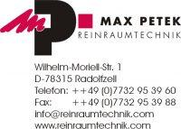 Logo Max Petek Reinraumtechnik