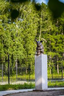 Памятник лабораторной мыши | Tayga.Travel