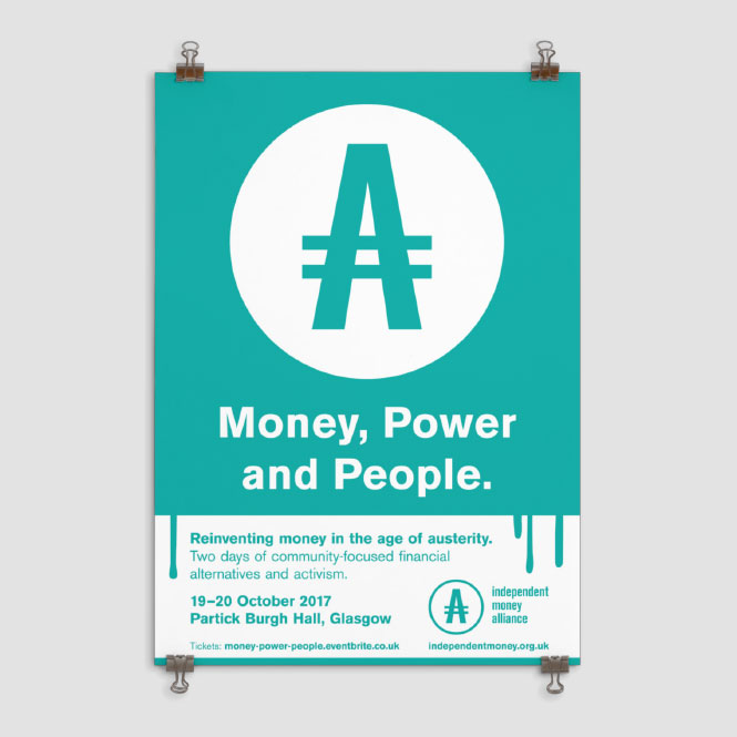 Independent Money Alliance Identity By This Aint Rocknroll