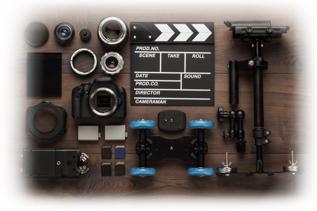different-video-equipment-view-from-above-PUP738T