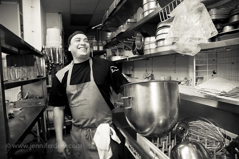 artist portraits in food. Michele Coulon dessertier.com