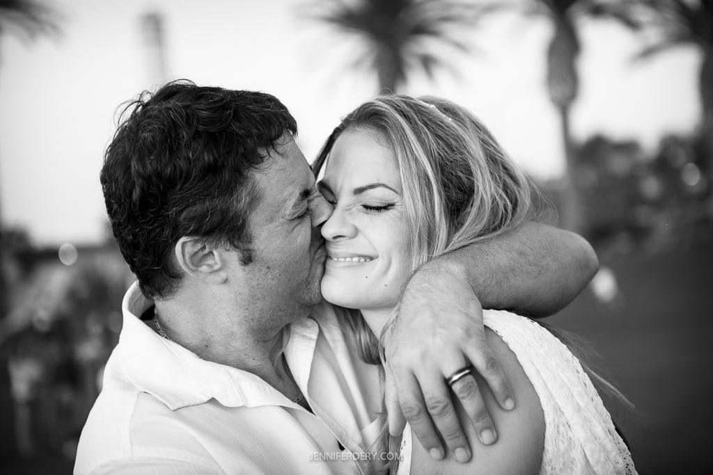 Jackie and Andy: Ponto State Beach + Del Mar Powerhouse Wedding