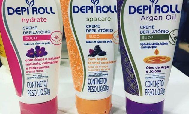 Creme depilatório Depi Roll