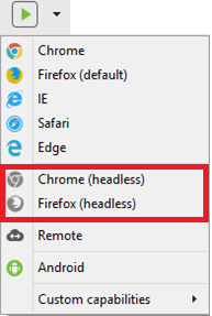 run headless browser