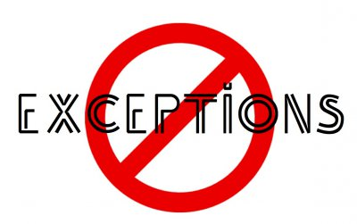 Exceptions in Selenium