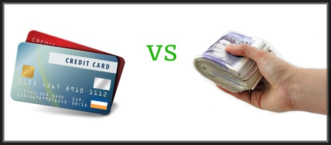 credit card vs cash loans