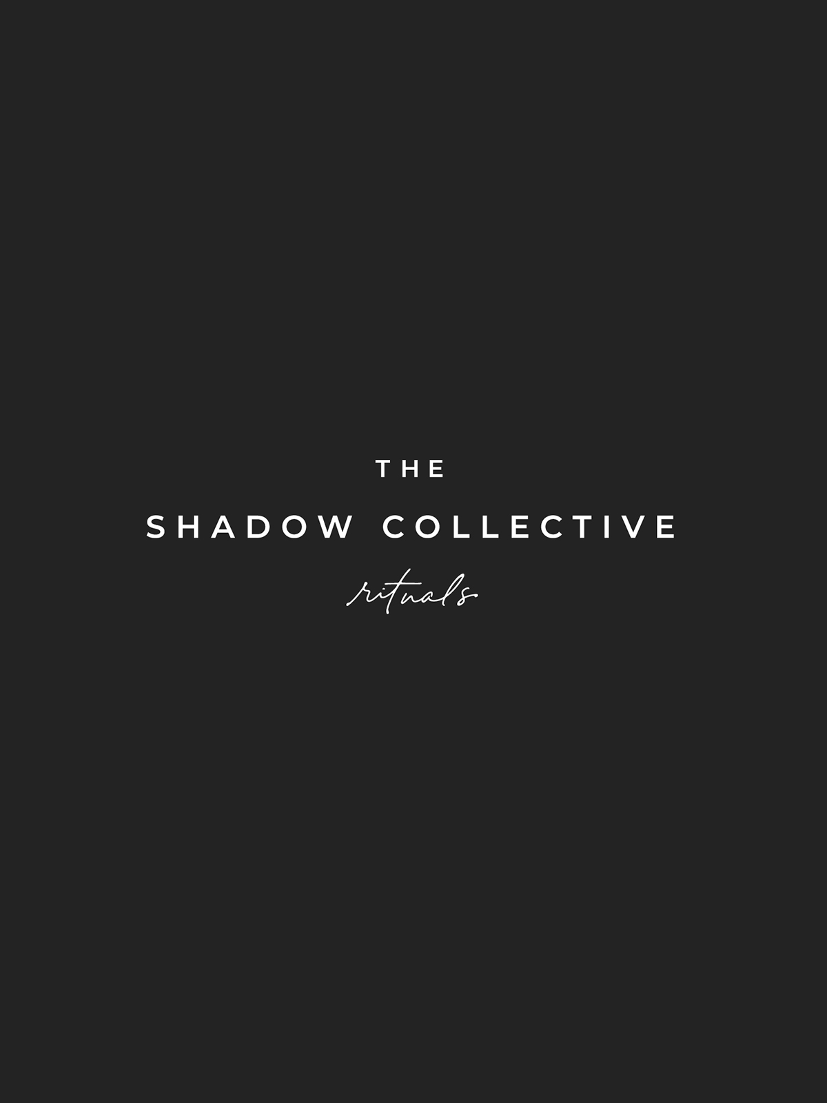 The Shadow Collective Vol. 1