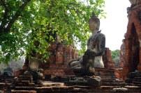 Statue à Wat Chai Watthanaram