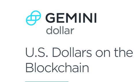 Gemini dollar Price