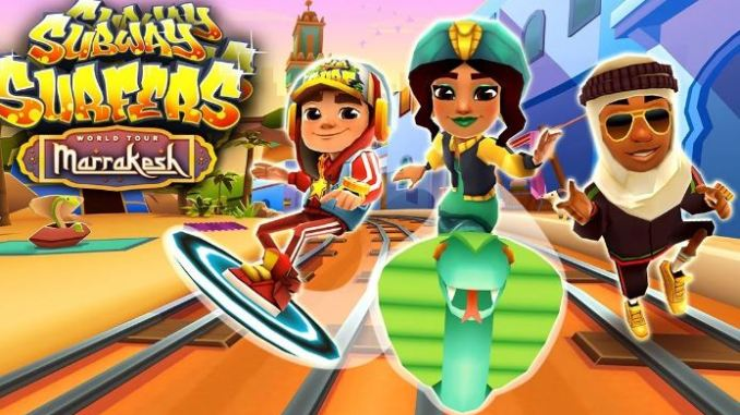 play Subway Surfers with new phone