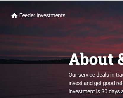 Feeder Africa investments