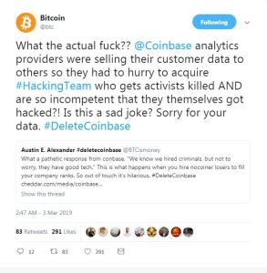 Have you seen this recent tweet by BITCOIN