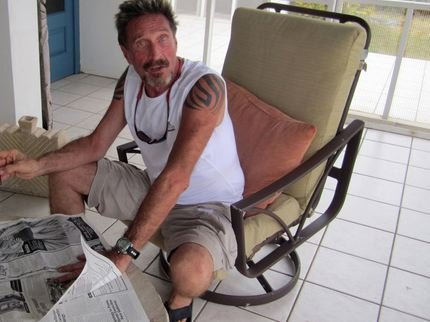 John McAfee Denies His Promise On Bitcoin Price