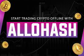 Crypto Transactions can be done offline using Allohash