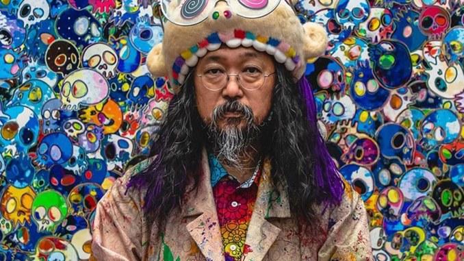Takashi Murakami, the Japanese musician dives into NFT world
