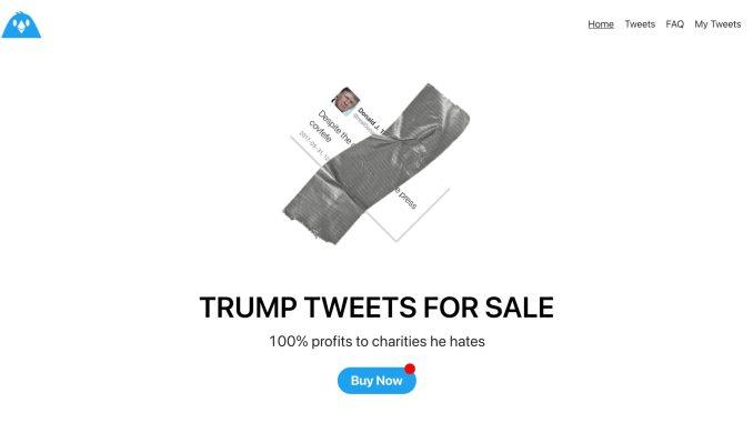 Strategic Meme Group puts Trump's tweet on NFT for 4.5 ETH