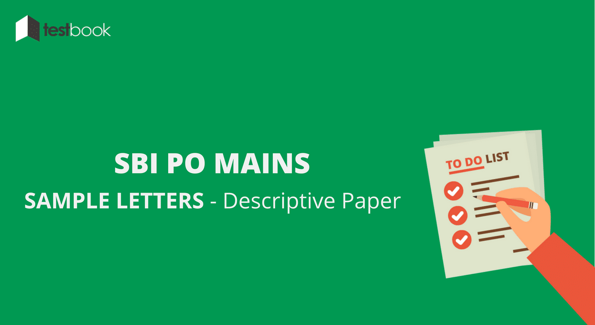 Letter Samples for SBI PO Mains Descriptive Paper with Bonus Tips
