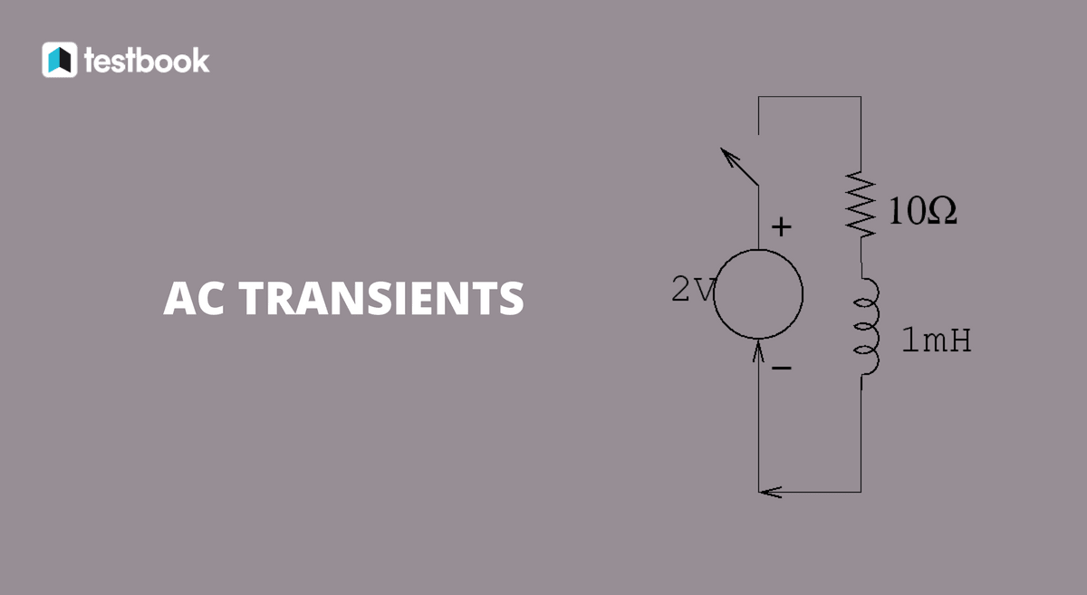 AC Transients - GATE Study Material in PDF - Testbook Blog