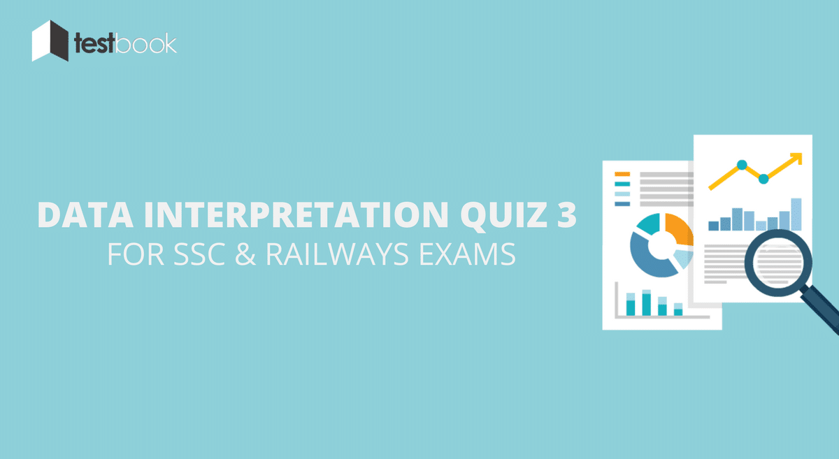 Data Interpretation Quiz 3 for SSC, Railways Exams