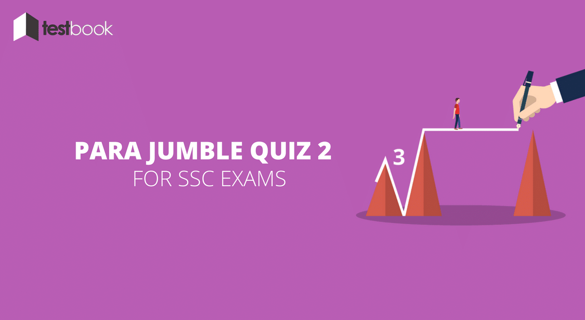Para Jumble Quiz 2 for SSC