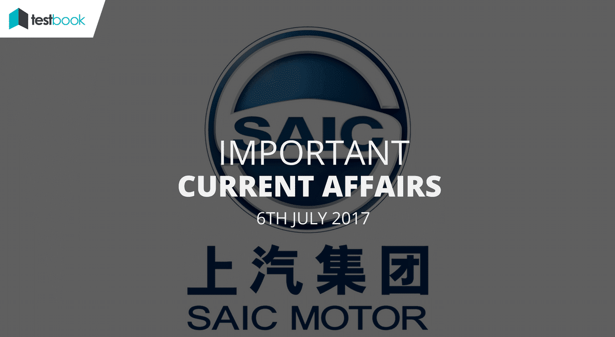 Important Current Affairs 6th July 2017 with PDF