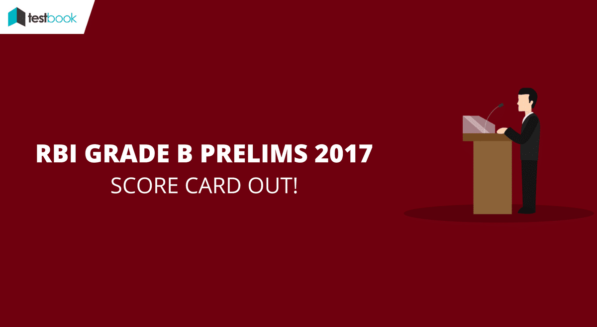 RBI Grade B Score Card for Prelims