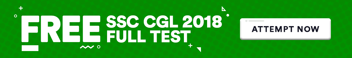 Free Mock Test for SSC CGL