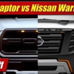 Face Off Ford F 150 Raptor Vs Nissan Titan Warrior Concept Testdriven Tv