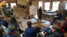 Thatching Demonstration in the Red Shed