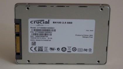 Crucial BX100 1TB rear