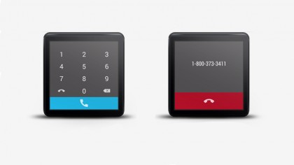Mini Dialer Best Android Wear Apps