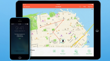 iOS 8 Find My iPhone feature Send Last Location