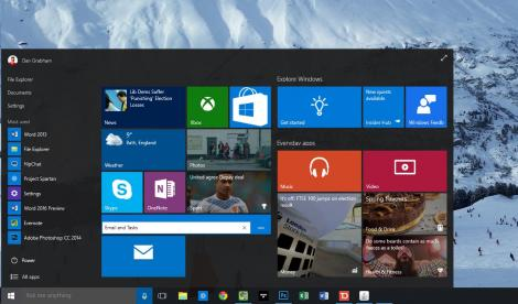 Microsoft focuses on finesse with latest Windows 10 preview