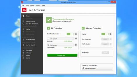 Updated: Best free antivirus software 2015