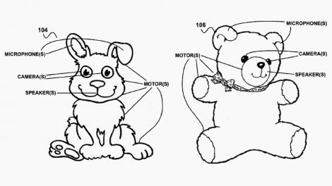 Google patent details Amazon Echo-style smart toys