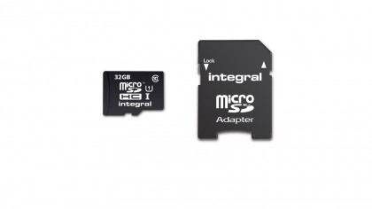 Integral 32GB Micro SDHC Card