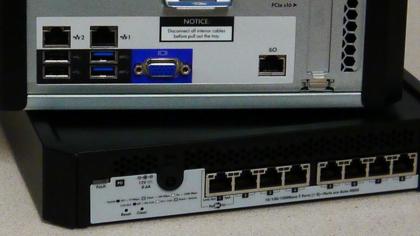 MicroServer Gen8 plus switch