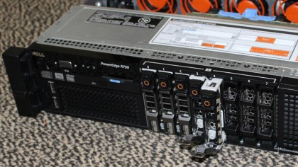Dell PowerEdge R730 disk detail