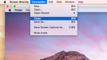 How to use screen sharing