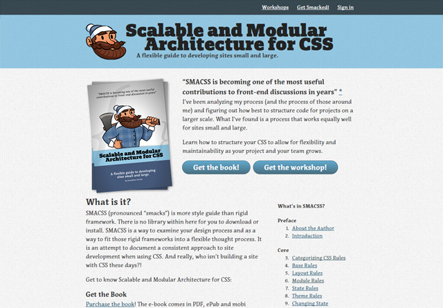 Scalable and Modular Architecture for CSS (SMACSS)